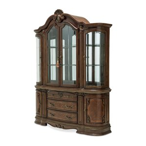 Bella Veneto Lighted China Cabinet by Michael Amini (AICO)