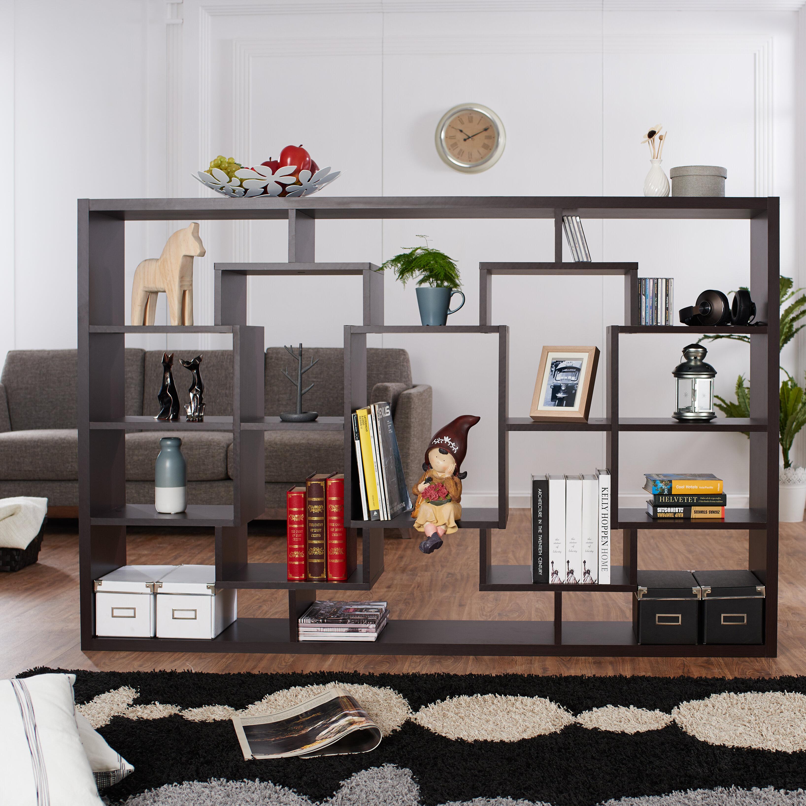 darby bookshelf pdx lular home reviews wayfair etagere co furniture under window bookcase