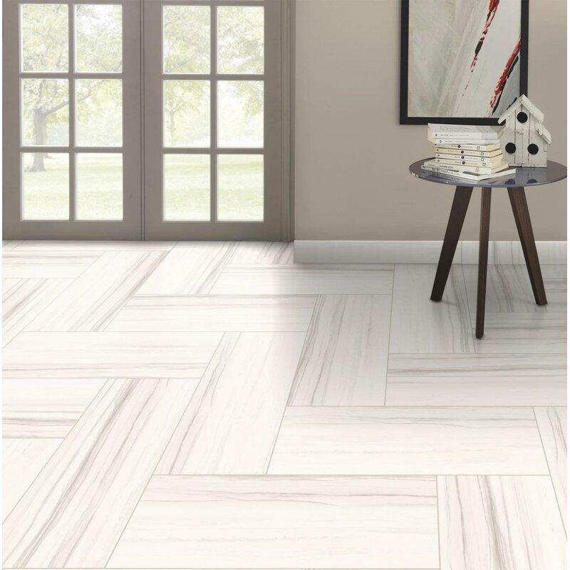 Emser Tile Ciudad 12 X 24 Ceramic Field Tile In Cream Wayfair