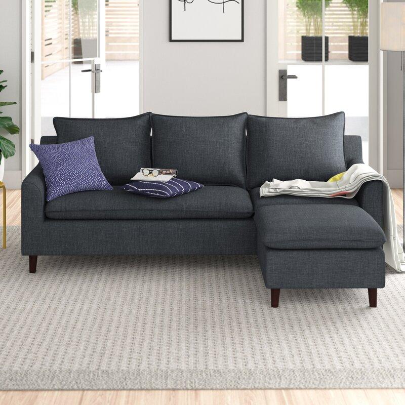Reversible Modular Corner Sofa