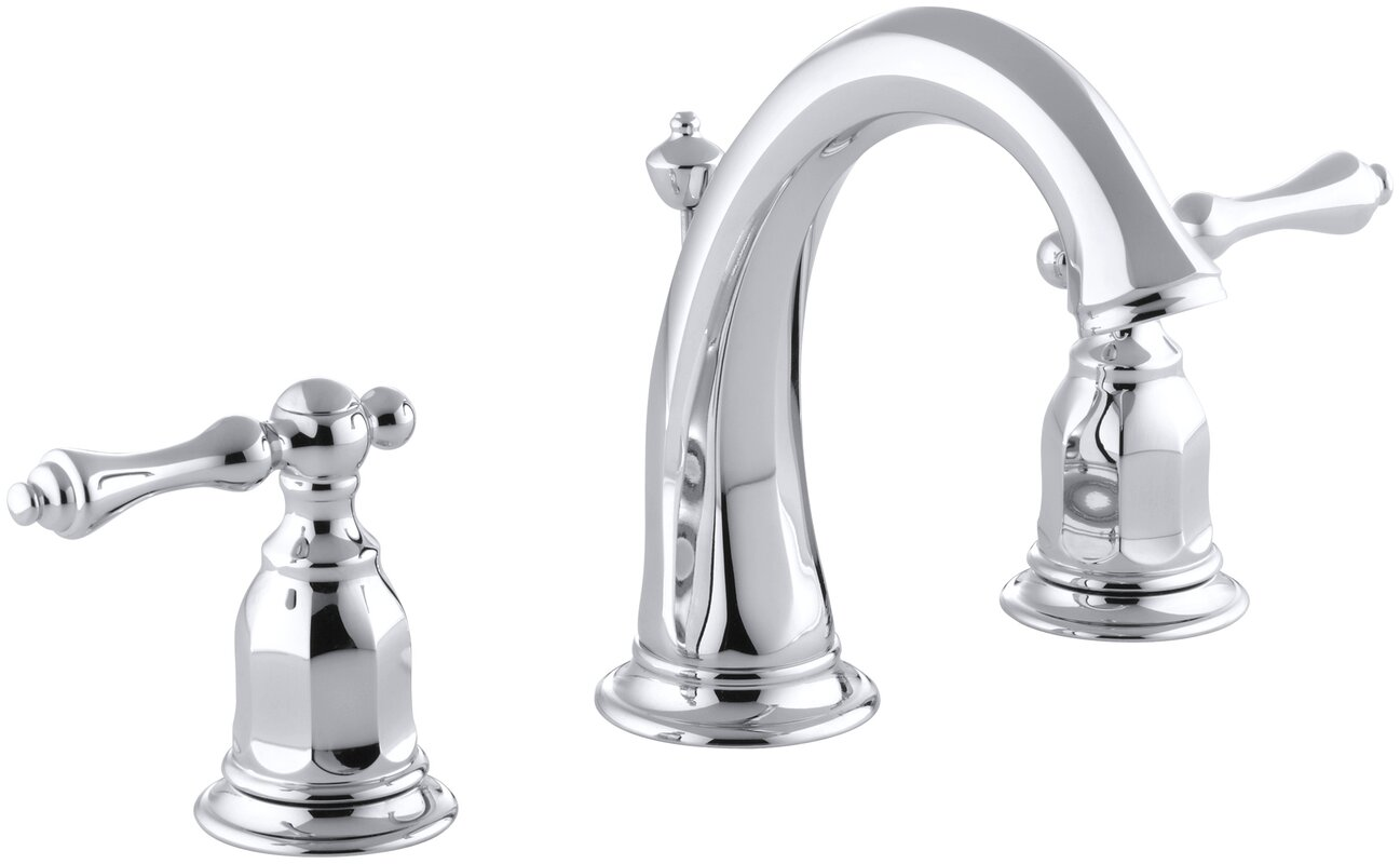 K-13491-4-2BZ,BN,CP Kohler Kelston Widespread Bathroom Sink Faucet ...