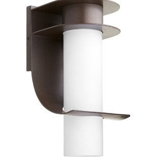 Inexpensive Donnta 1-Light Outdoor Sconce By Latitude Run