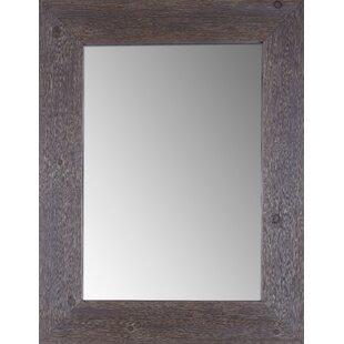 Millwood Pines Tengan Wood Wall Accent Mirror