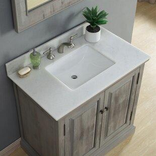 Best Rundall Single Bathroom Vanity Set ByLoon Peak