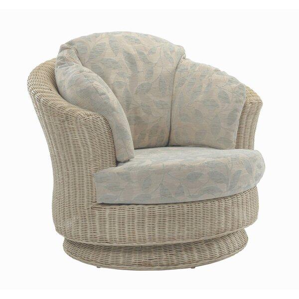 August Grove Cavaillon Swivel Tub Chair U0026 Reviews | Wayfair.co.uk