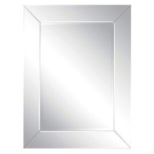 Latitude Run Rectangle Framed Accent Wall Mirror