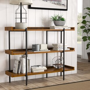 Reviews Calona Modern Etagere Bookcase By Gracie Oaks