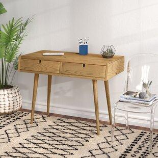Aldrich Solid Wood Writing Desk