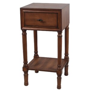 Brookhill End Table with Drawer by Alcott Hill