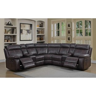 Kasten Reclining Sectional Red Barrel Studio