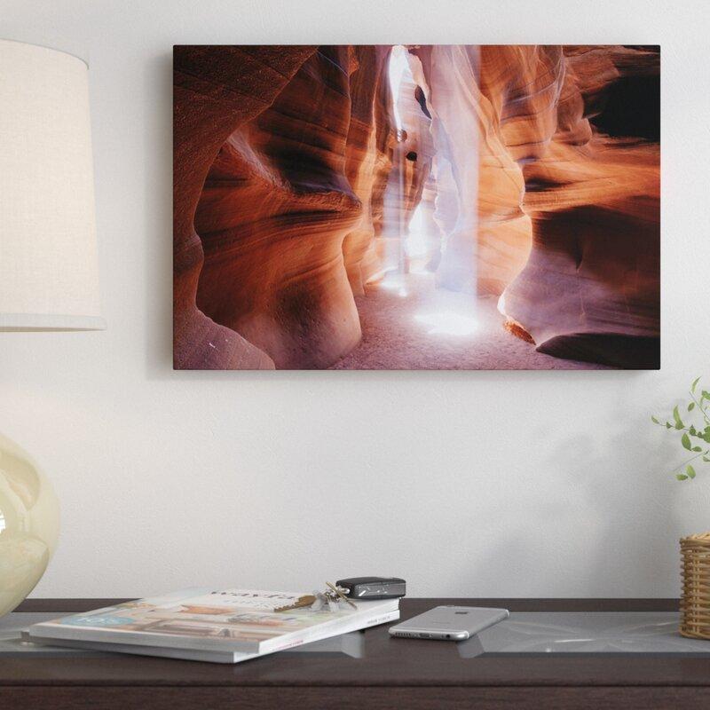 Antelope Canyon Arizona Panoramic Picture Canvas Print Home Decor Wall Art