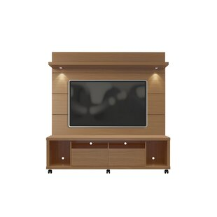 Julius Entertainment Center with LED Lights Wade Logan