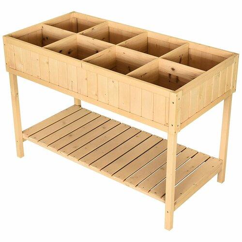 Kauffman Wooden Planter Box August Grove