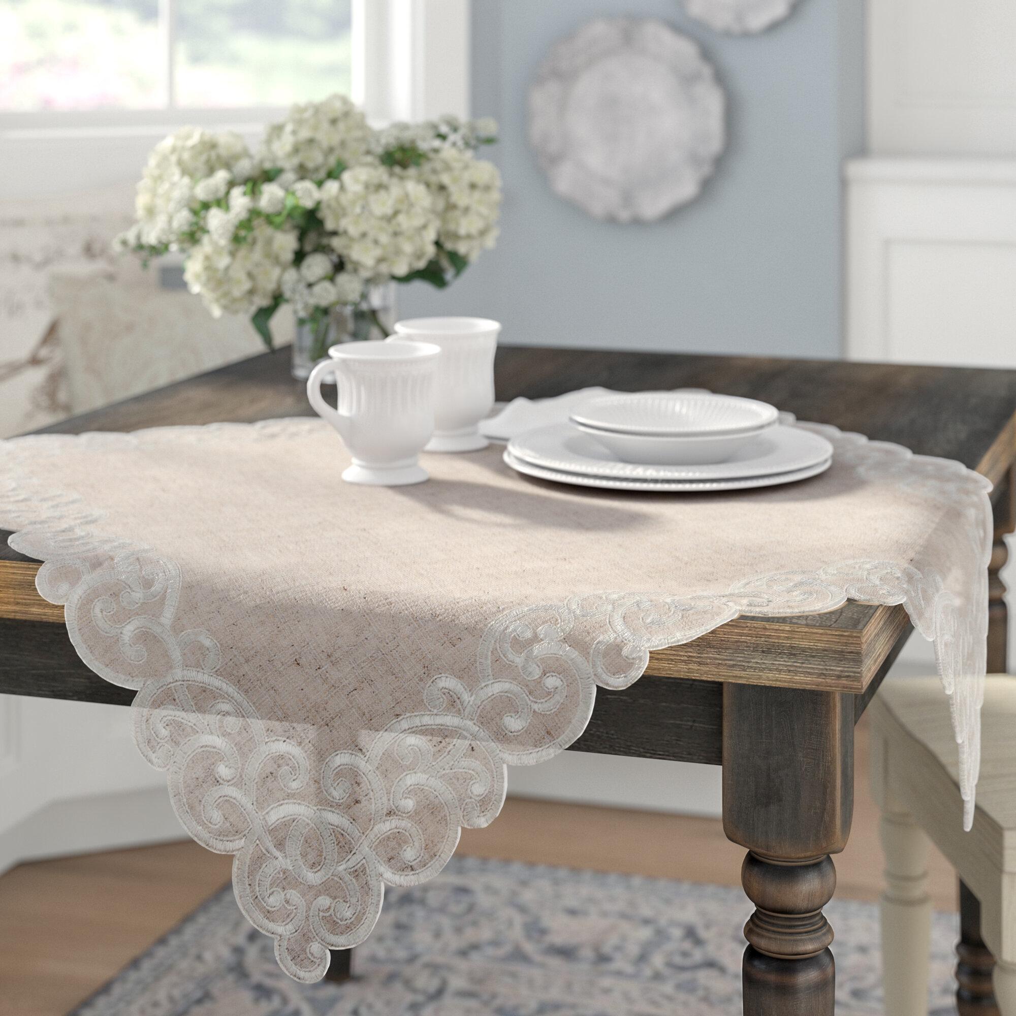 Lark Manor Armstrong Tablecloth Reviews Wayfair