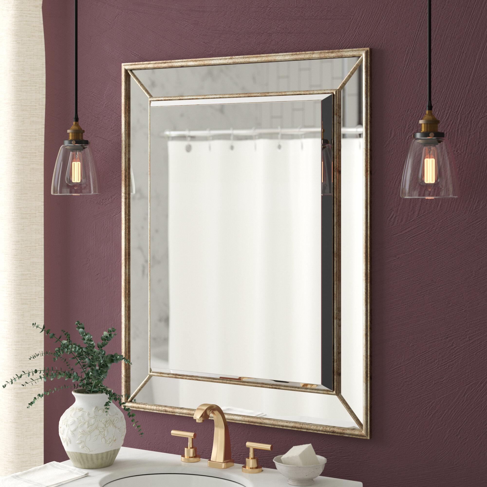 Maybery Rectangle Vertical Bathroom / Vanity Wall Mirror