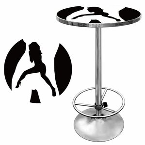 Shadow Babes C Series Pub Table by Trademark Global