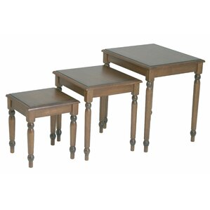 Jeannette 3 Piece Nesting Table Set by Darby..