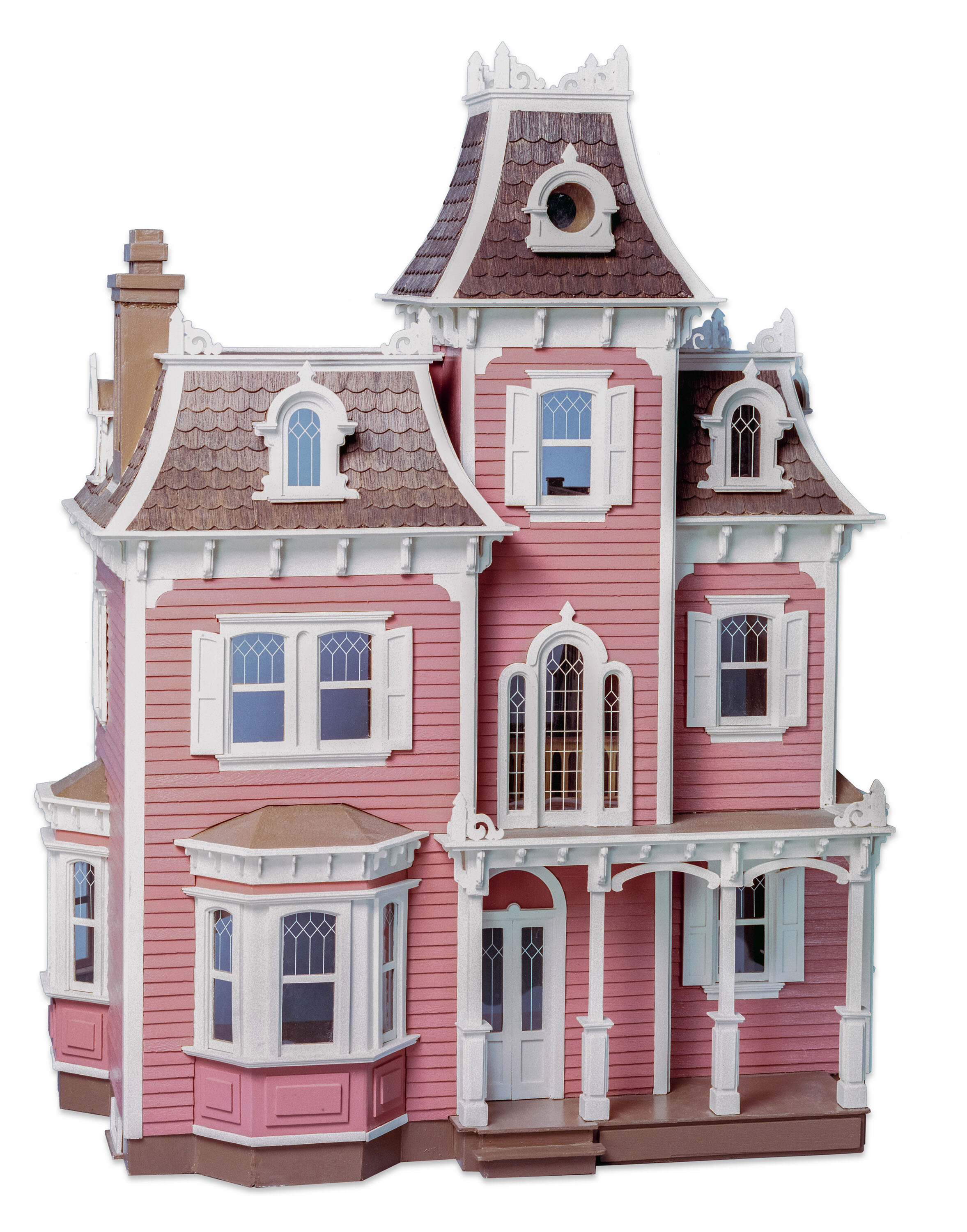 MADE IN USA FOLK ART GIRL 1:24 Half Scale Dollhouse Picture FAST DELIVERY