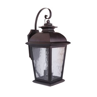 Compare & Buy Staggs Large 3-Light Outdoor Wall Lantern By Red Barrel Studio