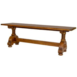 Countryside Wood Bench by Sarreid Ltd