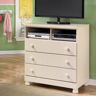 Compare prices Carey 3 Drawer Media Chest BySignature Design by Ashley