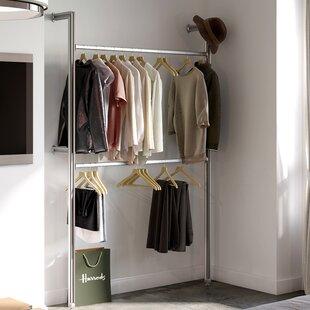 ... Clothes Rails u0026 Wardrobe Systems You ll Love Buy Online Wayfair & Wardrobe Hanging Rail Systems ? Cupboard Design Galleries