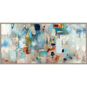 'Jazz Abstract Giclée' Framed Drawing Print by Brayden Studio