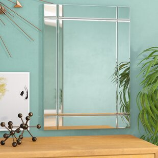 Wade Logan Rectangle Glass Accent Mirror