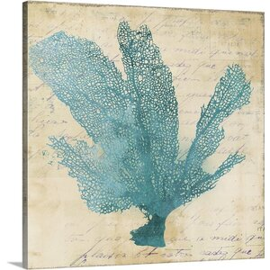 Coral I by PI Studio Graphic Art on Wrapped Canvas by Great Big Canvas