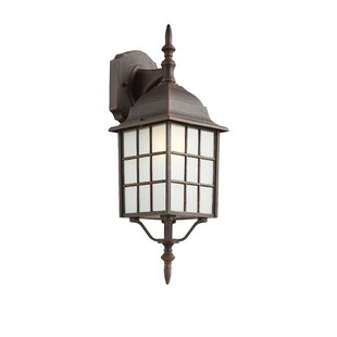 Woodard 1-Light Outdoor Wall Lantern By Loon Peak Outdoor Lighting