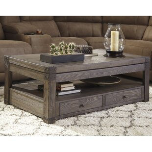 Farmhouse rustic coffee tables birch lane bryan lift top coffee table watchthetrailerfo