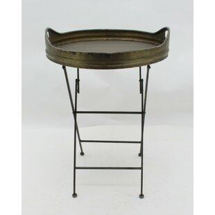 Killian Metal Round Tray Table