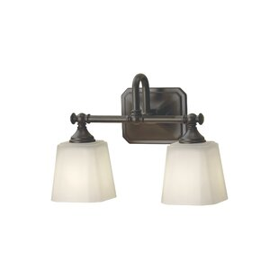 Waynesfield 2-Light Vanity Light By Alcott Hill Wall Lights