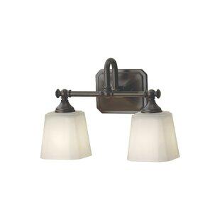 Best Choices Waynesfield 2-Light Vanity Light By Alcott Hill