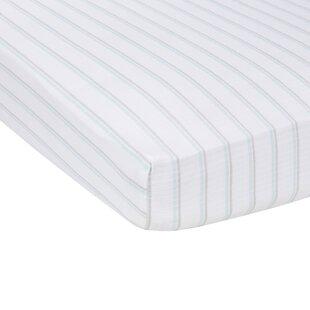 Comparison Stripes Flat Crib Sheet ByMiracle Blanket