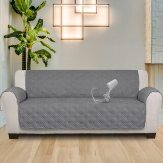 100% Waterproof Non-Slip Box Cushion Sofa Slipcover by Red Barrel Studio SKU:BC974736 Guide