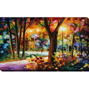 The Soul of Night by Leonid Afremov Painting Print on Wrapped Canvas by Picture Perfect International