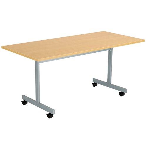 Konferenztisch ClearAmbient Tischplattenausführung: Eiche| Größe: 72 cm H x 160 cm L x 80 cm B | Büro > Bürotische > Konferenztische | ClearAmbient