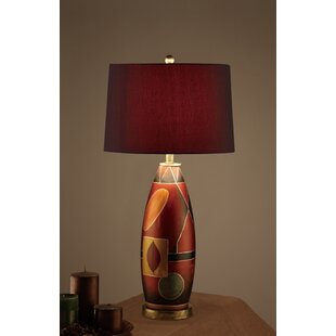 Shop For Charpentier Mosaic Pattern Base Deep Drum Shade 31 Table Lamp (Set of 2) By Ebern Designs