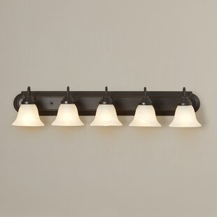 Savings Beveridge 5-Light Vanity Light By Three Posts