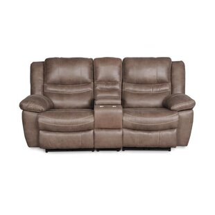Du Reclining Loveseat with Console