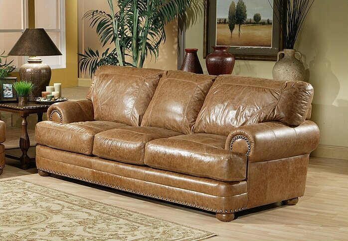 Merveilleux Houston Leather Sofa