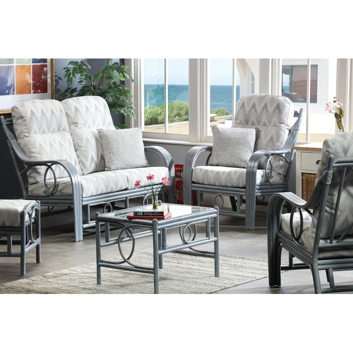 Freeze Grey 2 Seater Sofa 2x Armchairs Coffee Table Footstool In Yang