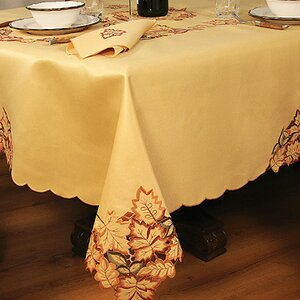 Wendling Embroidered Cutwork Tablecloth