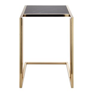 Marble Accent End Table By Nakasa
