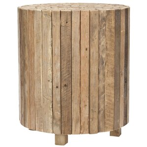 Linneus End Table by Loon Peak