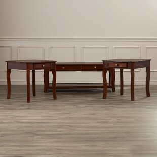Reviews Bethel 3 Piece Coffee Table Set ByDarby Home Co