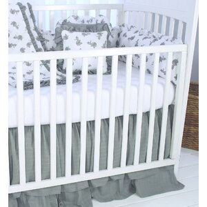 Elephant Tales Fitted Crib Sheet