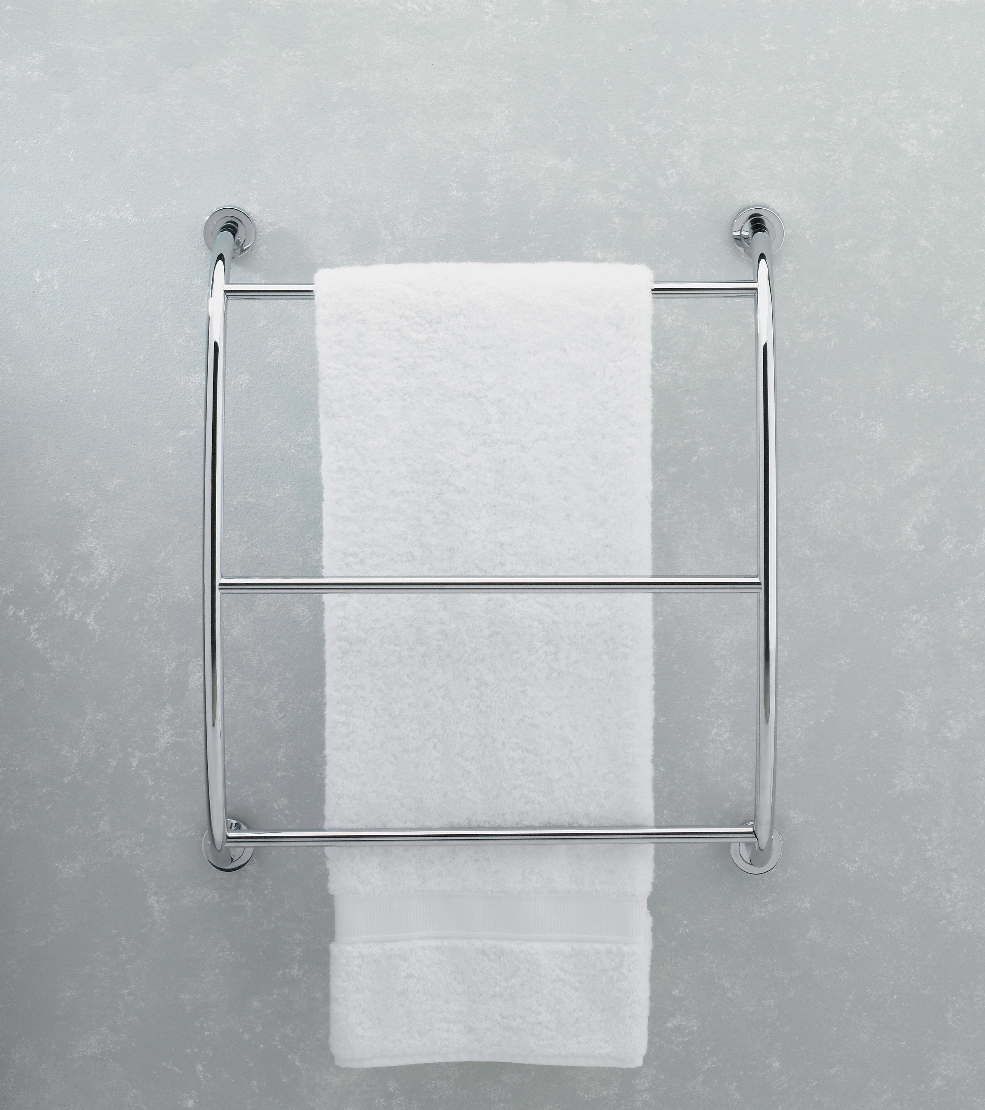Valsan Essentials Wall Mounted Towel Rack | Wayfair