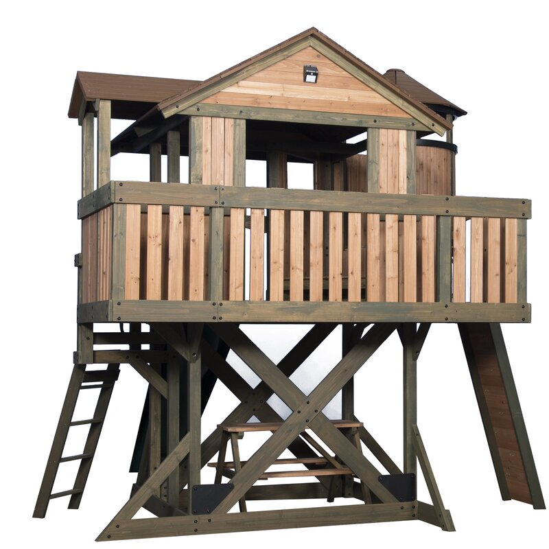 Backyard Discovery Eagles Nest 12' X 14' Playhouse